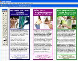 Patient Brochure Templates Free Acupuncture Education Cards Brochures