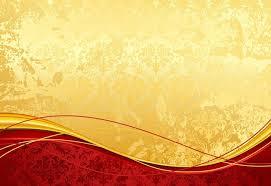 free vintage red gold fl