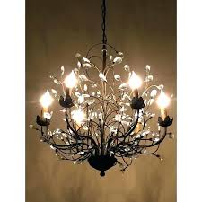 oil rubbed bronze crystal chandelier com bay 5 light within with regard to crystals decorating