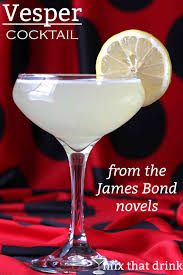 the vesper l recipe a drink james bond invents in royale named for a