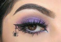spider web eye detials are on my insram firepixie makeup spiderweb