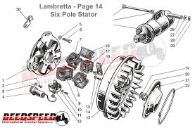 lambretta stator plate wiring diagram wiring diagram and electronic ignition stator plate 12 volt ac bgm