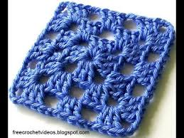 Classic Granny Square Pattern Unique Classic Granny Square In One Color YouTube