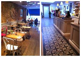 i decided to search further for places that use these unique encaustic tiles from villa lagoon tile and so i have recently visited the blue legume café