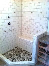 tile showers with bench shower with glass doors walk in bench ideas and stall seat