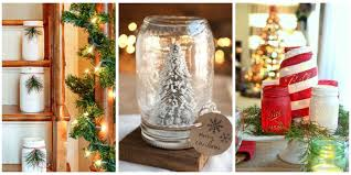 Decorating Mason Jars 43 Mason Jar Christmas Crafts Fun Diy Holiday Craft Projects