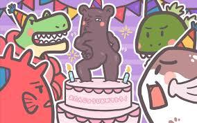 Draw So Cute Birthday Cake Gigantesdescalzoscom