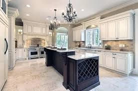vintage white kitchen cabinets luxury kitchen with antique white cabinets long wood island with white granite