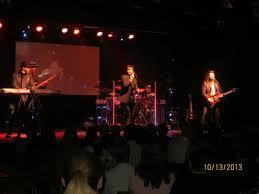 On Stage Bilde Av Australian Bee Gees At Excalibur I Las