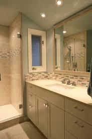 Tile Backsplash In Bathroom Creative