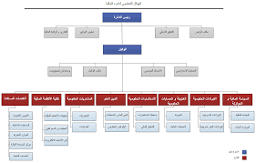 Organizational Structure Department Of Finance