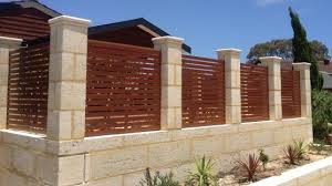 brick fences. Simple Brick Brick Fencing Designs By Perth Gates And Privacy Screens Intended Fences N