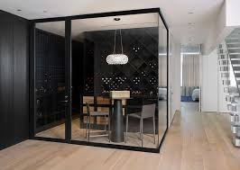wine room furniture. Contemporary Wine Cellar And Tasting Space With Glass Walls [Design: D\u0027apostrophe Design Room Furniture