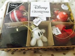 6 Christbaumschmuck Mickey Mouse Disney Xmas