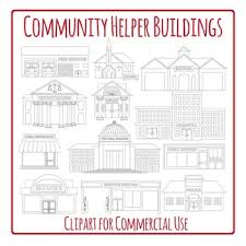 Community Helpers Clipart Black And White (93+ images in ...