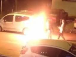 Ankara'da bir kadın kendini ateşe verdi