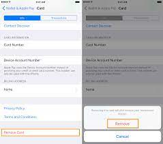 Tap the red delete button to the left of when you remove a credit card from your apple id, that card can no longer make purchases in itunes or the app store. How To Remove Your Credit Card Information From Your Iphone