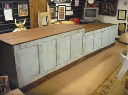 Kitchen Island Bar Distressed Retail Check Out Counter Kitchen Island Bar Desk