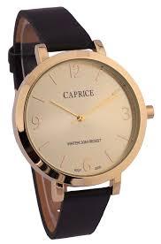 watches at walmart ca cardinal caprice ladies black leather strap analog watch