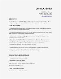 It Resume Example Fresh Resume Sample For Teacher Best Inspirational