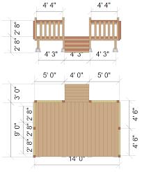 simple wood patio designs. Perfect Designs Deck Elevation Intended Simple Wood Patio Designs I