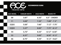 Ace Trucks Size Chart Ace Trucks 33 Classic Copper Layback Trading