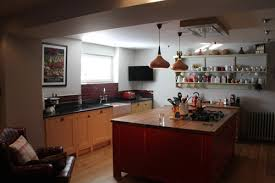 lighting solutions for dark rooms. BEFORE--dark-basement-kitchen AFTER-COUNTRY-KITCHEN-Basement-light-solutions Lighting Solutions For Dark Rooms N