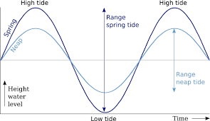 Spring And Neap Tides Astronomical Origin Of Tides