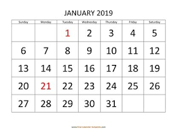 Calendar Template Monthly 2020 Free Calendar Template 2019 And 2020