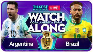 ARGENTINA vs BRAZIL COPA AMERICA ...