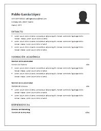 Formato Curriculum Vitae Basico Word Kayas Opencertificates Co