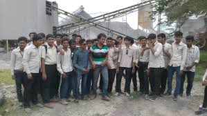 diploma civil noble group of institutions junagadh  to shree stone crusher junagadh was arranged for 5th semester students in 2015