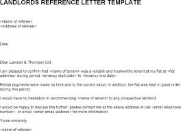 Landlord Reference Letters New X Character Reference For House Rental Template 44 Letters Of