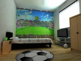 Inspiring Soccer Bedroom Decor