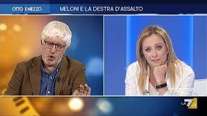 Otto e mezzo, lo scontro tra la Meloni e la Gruber (video)- Secolo d'Italia