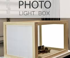 How Do I Make A Light Box How To Build A Photo Light Box Photo Light Box Photo