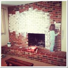 removing paint from brick fireplace how paint a brick fireplace so with a little help from removing paint from brick fireplace