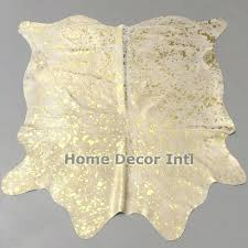 white and gold cowhide rug get this unique and beautiful metallic gold on natural off white white and gold cowhide rug