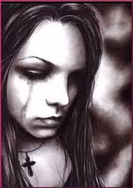 Image result for image of girl in tears