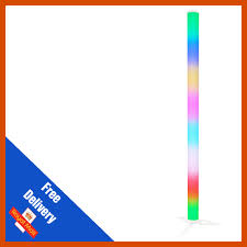 Colour Changing Tube Light Details About Equinox Pulse Tube Lithium Led Rainbow Colour Changing Dj Disco Party Light