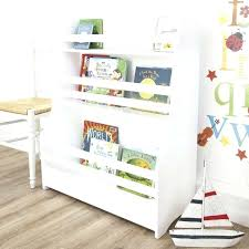 bookcases wooden sling bookcase kids craft top blue ribbon bookshelves inventiveness hanging and storage shelves