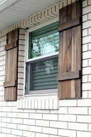exterior wood shutters the rustic farmhouse exterior shutters shown here are made from