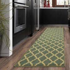 ottohome collection contemporary moroccan trellis design sage green