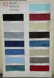 1961 Buick Exterior Upholstery Colors Original Sales