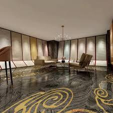 inkjet glazed black wood grain marble effect porcelain floor tiles for bathroom design