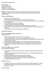 Resume Call Center Objective Call center resume for professional with relevant experience needed 1
