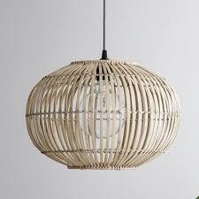 bamboo pendant lightshade extra large