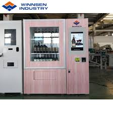 Code For Vending Machine System Inspiration China Winnsen Bottled Wine Beer Vending Machine Qr Code Supported
