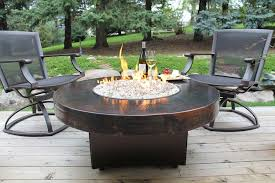 outdoor gas fire pit components