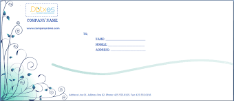 Envelope Template Word Magdalene Project Org